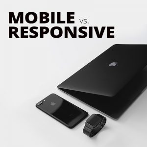 Blog Mobile Vs Responsive