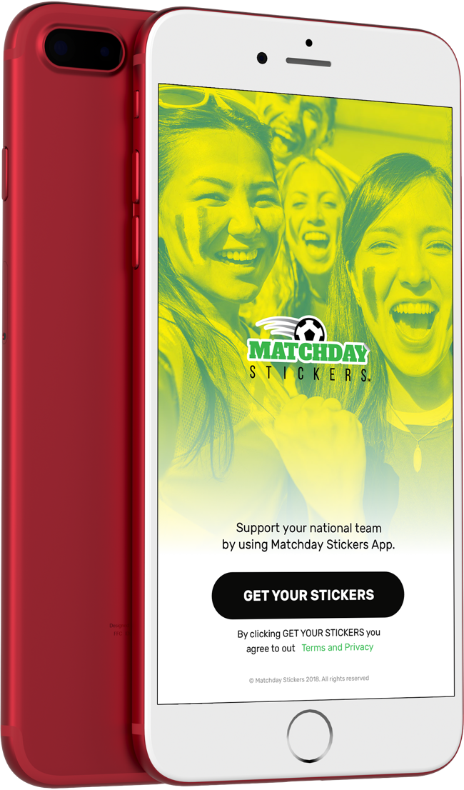 'Matchday Stickers Football App'